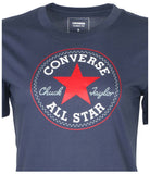 Converse Women's Core Tri-Color Core Patch Chuck T-Shirt