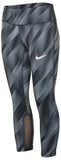 Nike Women's Dri-Fit Power Epic Running Capris-Dark Grey/Black