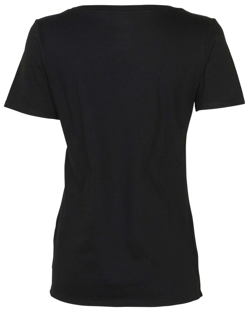 Nike Women's Team Nike Scoop Neck T-Shirt-Black