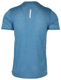 Nike Men's Breathe Dri-Fit Short Sleeve Running Top-Industrial Blue