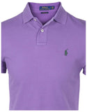 Polo RL Men's Custom Slim Fit Mesh Pony Shirt