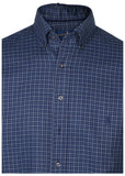Polo RL Men's Big & Tall Twill Button Down Shirt-Blue
