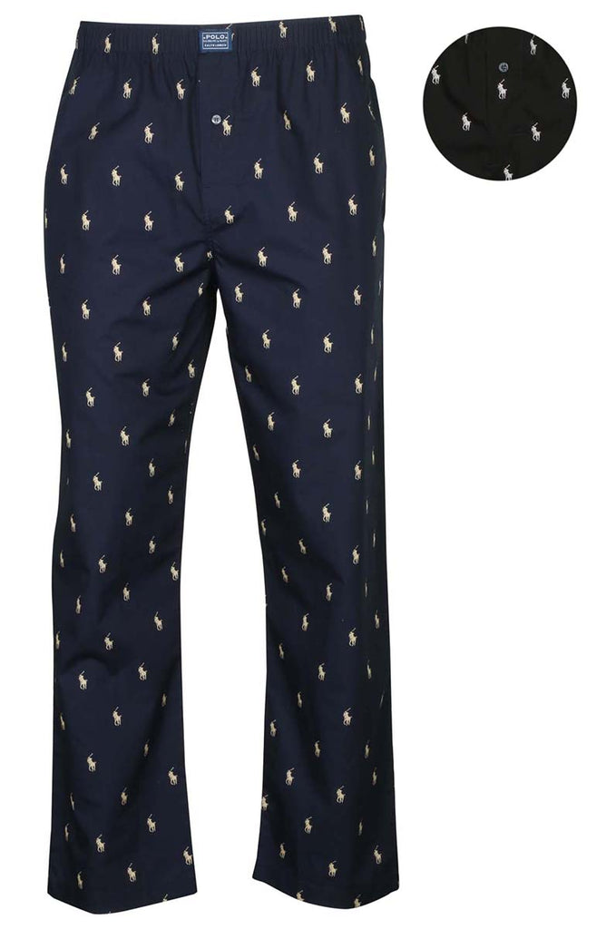 Polo Ralph Lauren Men's All Over Pony Woven Pajama Pants