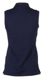RL Golf Women's Classic Fit Sleeveless Polo-Navy