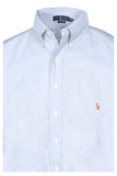 Polo Ralph Lauren Men's Big & Tall Classic Fit Button Down Shirt-Blue
