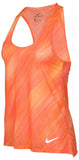 Nike Women's Breathe Printed Running Tank Top-Sunset Glow