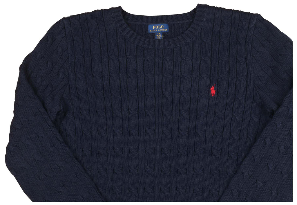 Polo Ralph Lauren Big Boys' (8-20) Cable Knit Pony Sweater
