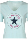 Converse Women's Core Heather Chuck Taylor V-Neck-Mint