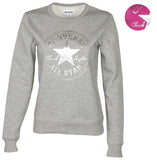 Converse Women's Metallic Chuck Taylor Patch Sweatshirt