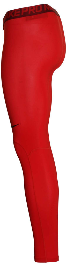 Nike Men's Dri-Fit Pro Training Tights-Gym Red
