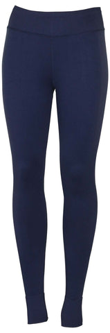 Converse Women's Engineered Jacquard Leggings-Midnight Navy