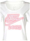Nike Women's Nike Swoosh 24 Hrs Scoop Neck T-Shirt