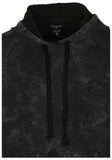 True Religion Men's Matches Pullover Hoodie-Black Marble