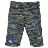 True Religion Men's Camo Field Shorts-Mix Territory