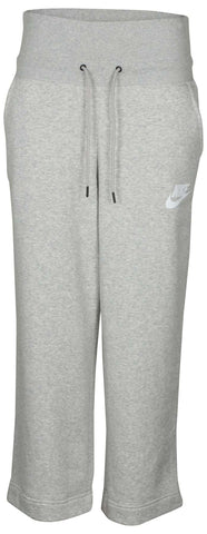 Nike Women's Rally Sport Casual Pants-Heather Grey