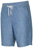 Polo Ralph Lauren Men's Classic Fit Chambray Shorts-Chambray Blue