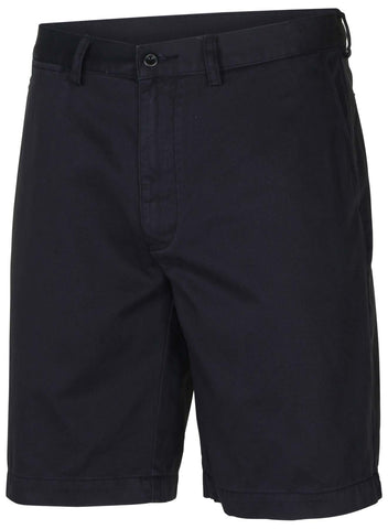 Polo RL Men's Flat Front Chino Shorts-Navy