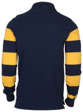 Polo RL Men's Custom Slim Fit LS Rugby Shirt