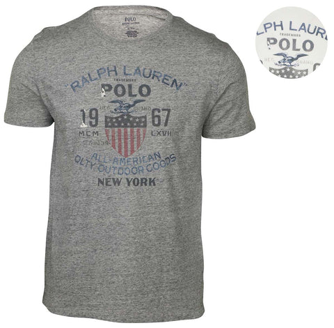 Polo RL Men's Vintage Graphic T-Shirt