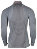 Nike Men's Hyperwarm Half Zip LS Training Top-Cool Grey