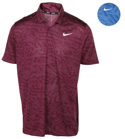 84354033 Nike Men's Breathe Jacquard Polo Golf Shirt