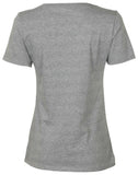 Nike Women's Futura Nike Swoosh Graphic T-Shirt-Heather Grey