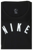 Nike Women's Graphic Logo Scoop Neck Tee-Black
