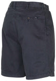 Polo RL Men's Pleated Front Shorts-Navy