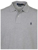 Polo RL Men's Classic Fit Mesh Polo Shirt-Andover Heather