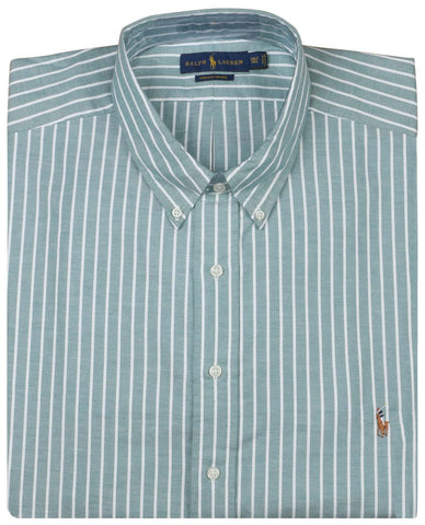 Polo RL Big and Tall Men's Oxford Stretch Stripe Shirt