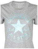 Converse Women's Glitter Chuck Taylor Core Patch T-Shirt