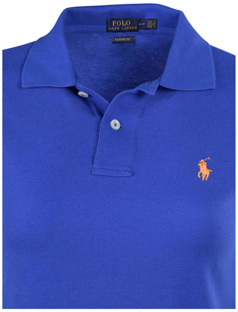 Polo Ralph Lauren Women's Classic Fit Mesh Pony Shirt-Bright Imperial 2115