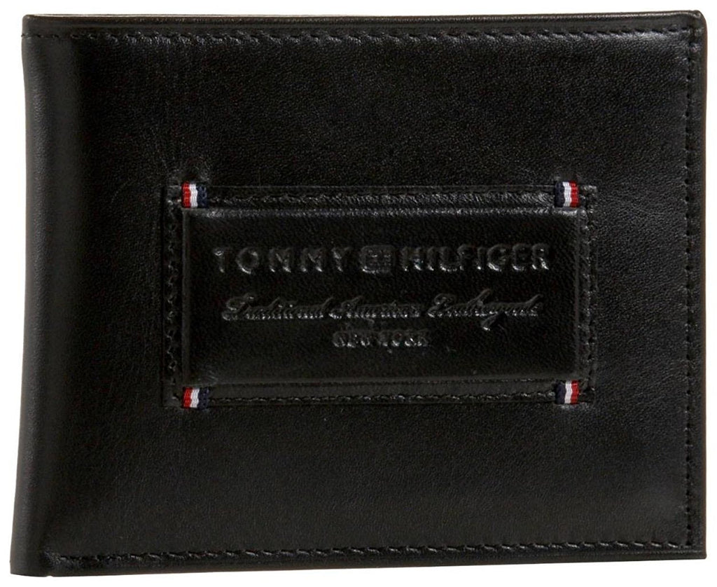 Tommy Hilfiger Men's Passcase & Valet w/ Removable Card Holder Wallet