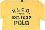 Polo Ralph Lauren Infant Boys' (3M-24M) R.L.C.O. Graphic T-Shirt-Aspen Gold