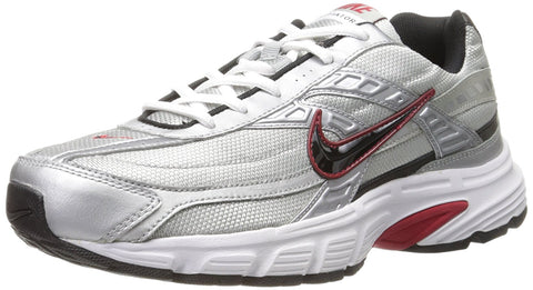 Nike Men's Initiator Running Shoes-Metallic Silver/Black