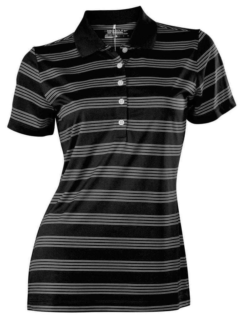 abe4e51f Nike Women's Dri-Fit Tech Striped Golf Polo Shirt – Webzom