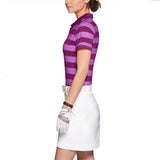 Nike Women's Dri-Fit Bold Stripe Golf Polo Shirt