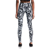 Nike Women's Leg A See Mishmash Sport Casual Leggings-Gray/Black