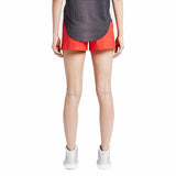 Nike Women's Bonded Woven Shorts-Red