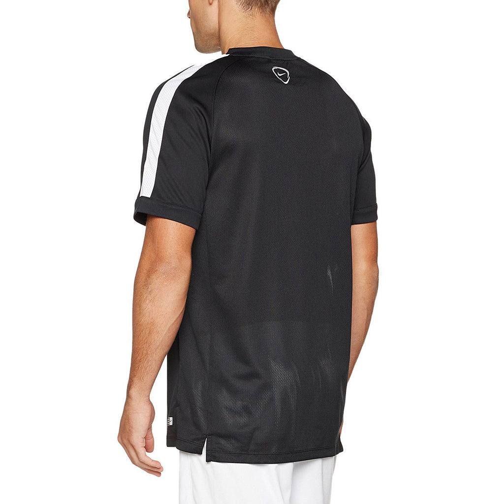 Nike Men's Squad 15 Flash Training Top-Black/White