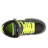 Nike Youth Boys' Mogan Mid 2 JR Skateboarding Shoes-Dark Grey/Volt
