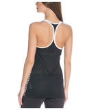 Nike Women's Get Fit Mesh Tank Top-Black/White