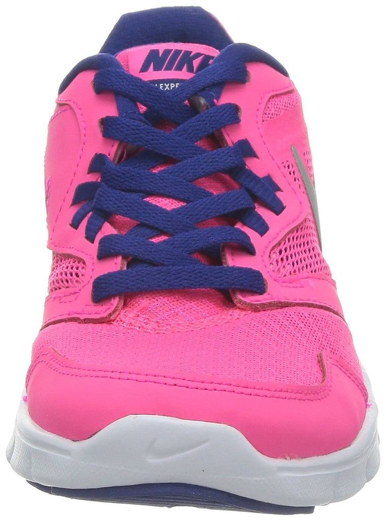 Nike Girl's Flex Experience 3 Athletic Shoes-Hyper Pink/Metallic Silver