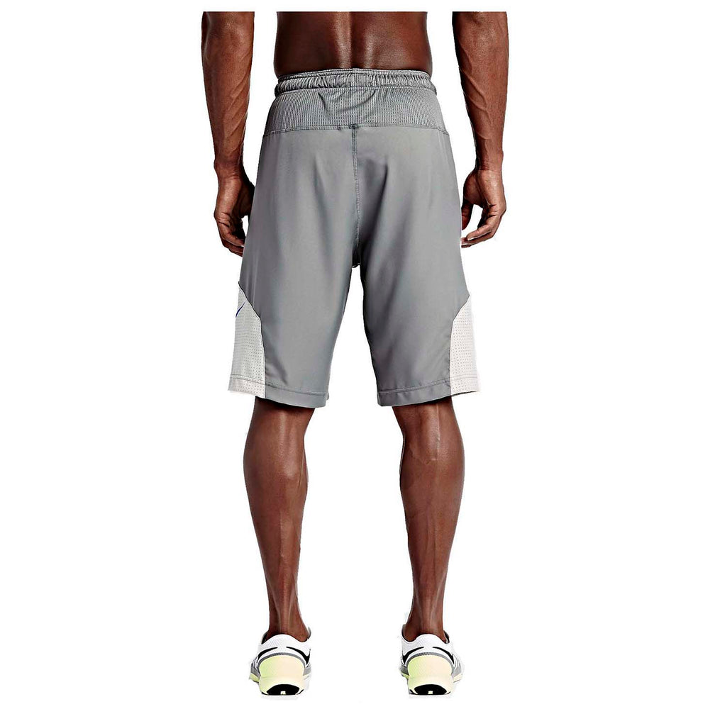 Nike Men's Dri-Fit Fly 4.0 Football Training Shorts-Tumbled Grey
