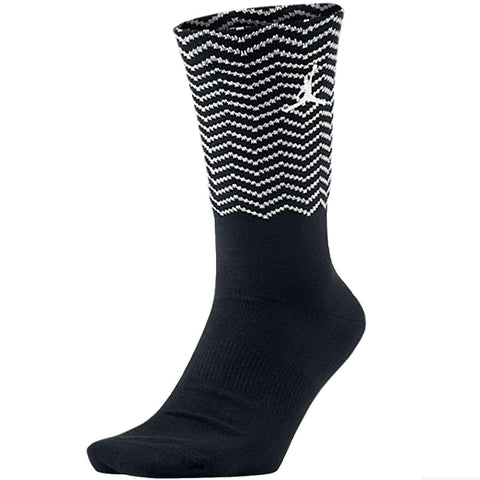 Jordan Men's 12 Jumpman Crew Socks-Black