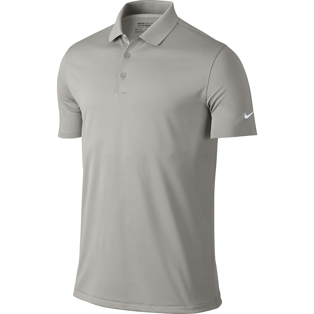 47a73ffc ... Nike Men's Dri-Fit Victory Golf Polo Shirt. Pewter Grey ...