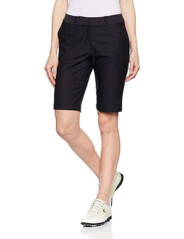 Nike Women's Golf Tournament Bermuda Shorts-Black