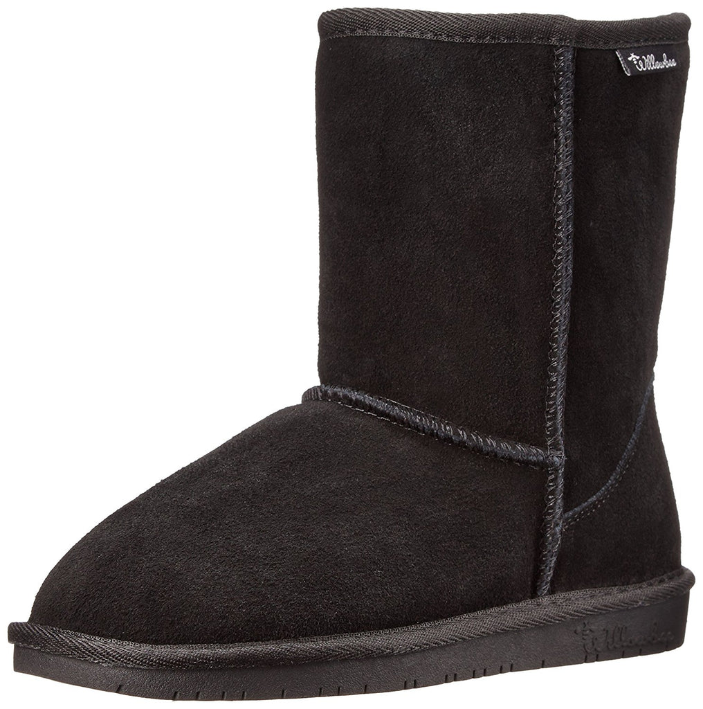 Willowbee Women's Ruby 8-Inch Suede Shearling Boot
