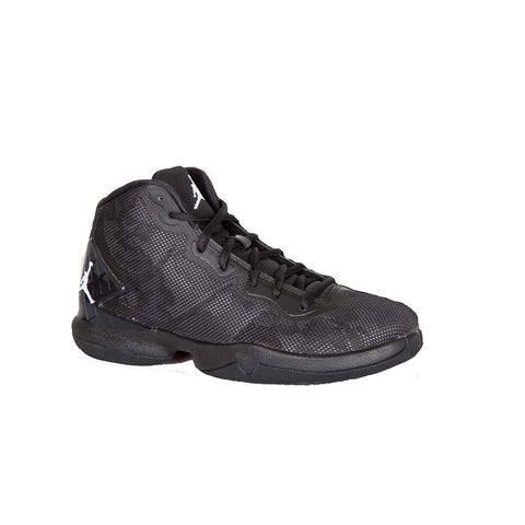 Jordan Kids Nike Super Fly 4 Basketball Shoes-Black/White/Dark Grey