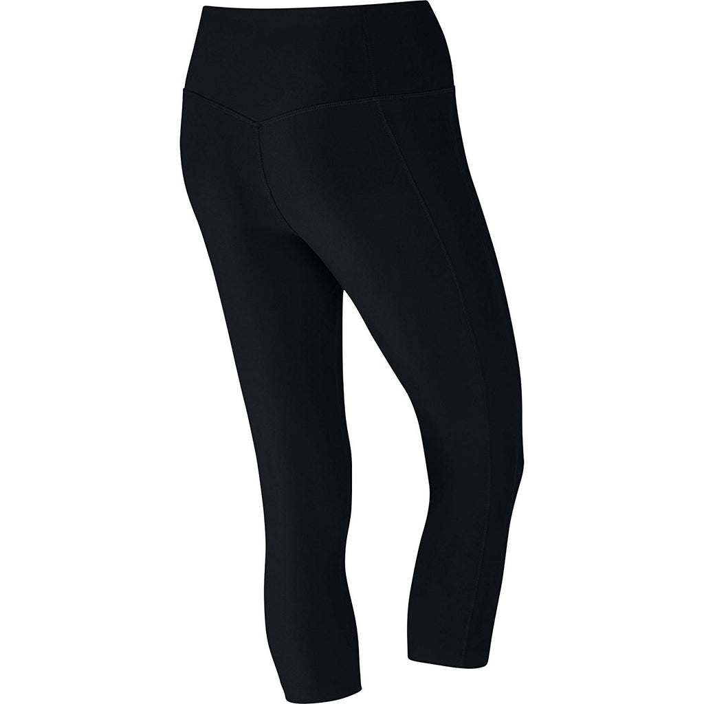 Nike Women's Dr-Fit Power Poly Training Capri Tights-Black